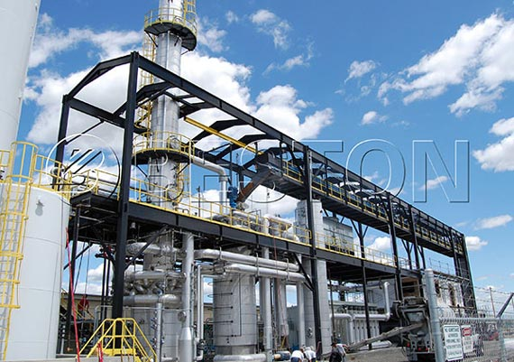 Beston Waste Oil Distillation Plant